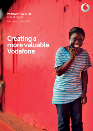 Vodafone Group annual report 2012