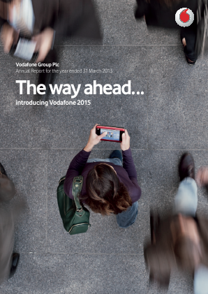 Vodafone Group annual report 2013