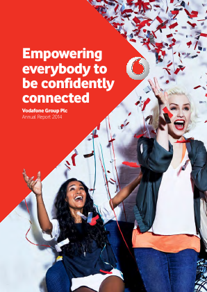 Vodafone Group annual report 2014