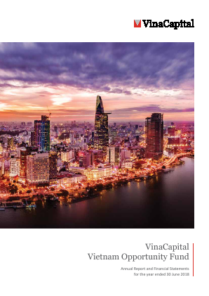 Vinacapital Vietnam Opportunity Fund annual report 2018