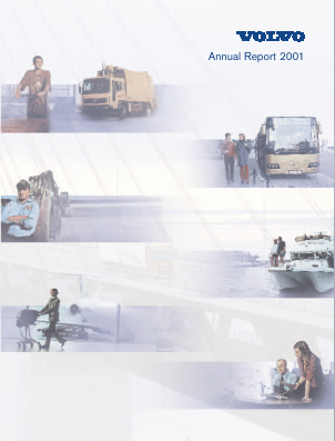 Volvo annual report 2001