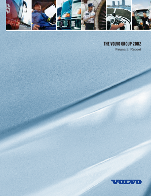 Volvo annual report 2002
