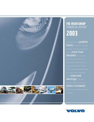 Volvo annual report 2003