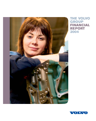 Volvo annual report 2004