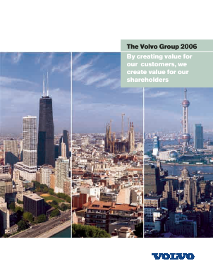 Volvo annual report 2006
