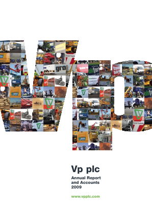VP annual report 2009