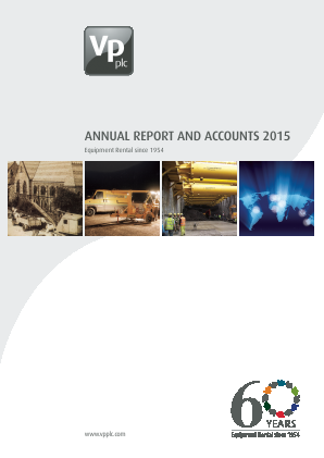 VP annual report 2015