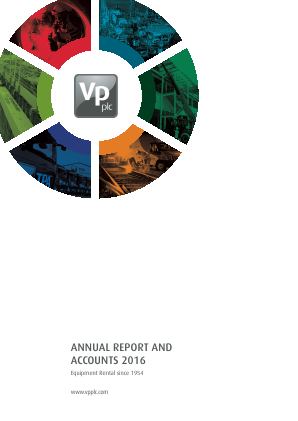 VP annual report 2016