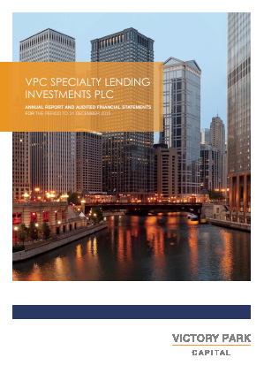 VPC Specialty Lending Investments Plc annual report 2015