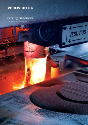 Vesuvius Plc (formally Cookson Group) annual report 2016