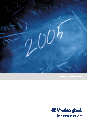 VTB Bank(PJSC) annual report 2005