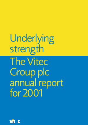 Vitec Group Plc (The) annual report 2001