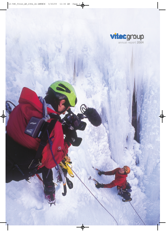 Vitec Group Plc (The) annual report 2004