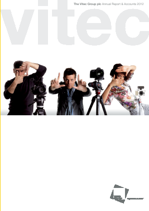 Vitec Group Plc (The) annual report 2012