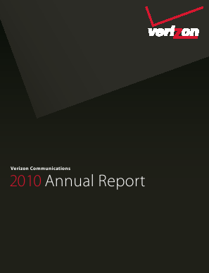 Verizon annual report 2010