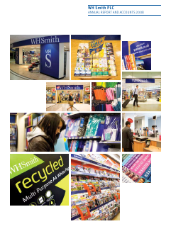WH Smith Plc annual report 2008