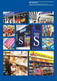 WH Smith Plc annual report 2010