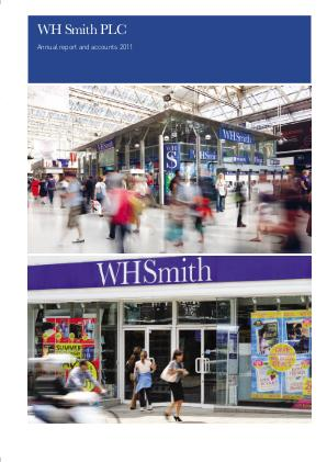 WH Smith Plc annual report 2011