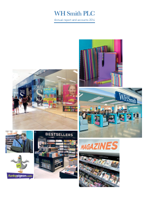 WH Smith Plc annual report 2014
