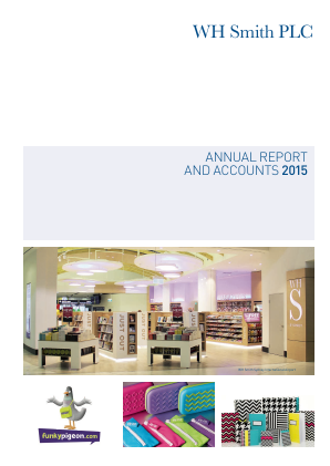 WH Smith Plc annual report 2015