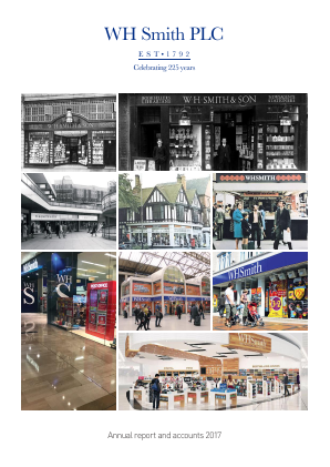 WH Smith Plc annual report 2017
