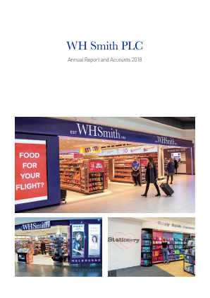 WH Smith Plc annual report 2018