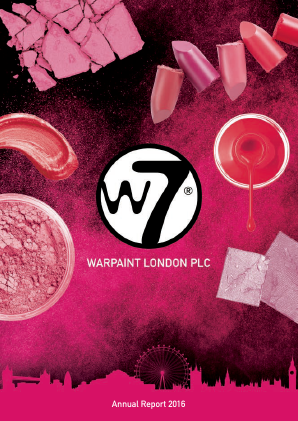 Warpaint London annual report 2016