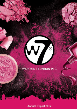 Warpaint London annual report 2017