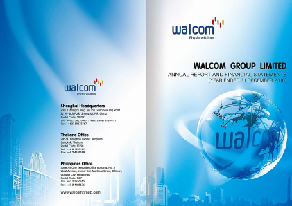 Walcom Group annual report 2010