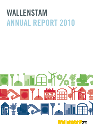 Wallenstam annual report 2010