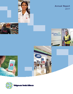 Walgreens Boots Alliance annual report 2017
