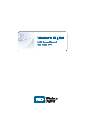 Western Digital Corporation annual report 2006
