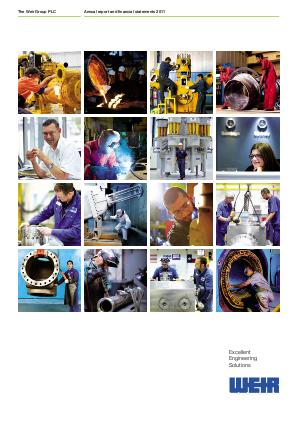 Weir Group annual report 2011