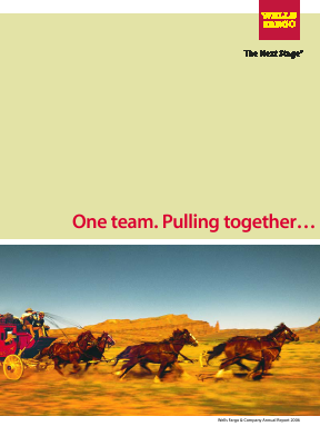 Wells Fargo annual report 2006