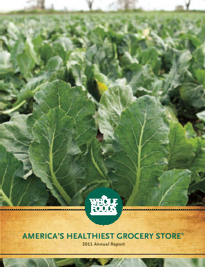 Whole Foods Market, Inc. annual report 2011