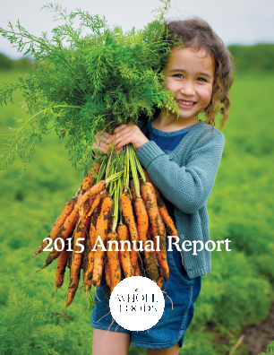 Whole Foods Market, Inc. annual report 2015