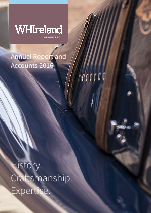 W.H.Ireland Group annual report 2016