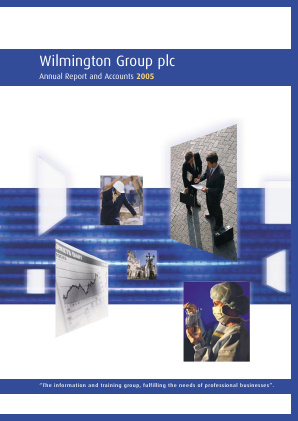 Wilmington Plc annual report 2005