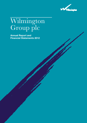 Wilmington Plc annual report 2012