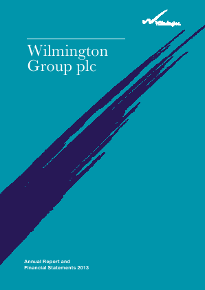 Wilmington Plc annual report 2013