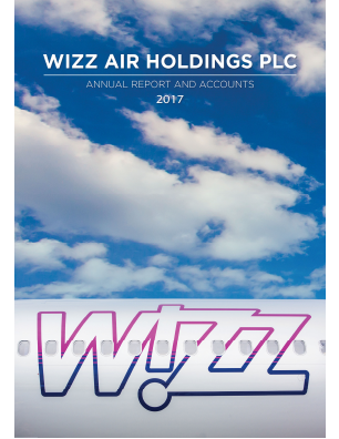 Wizz Air Holdings Plc annual report 2017