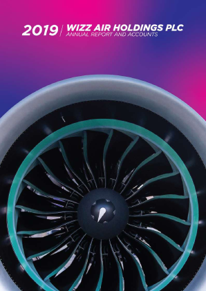 Wizz Air Holdings Plc annual report 2019