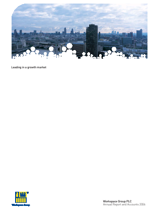Workspace Group Plc annual report 2006