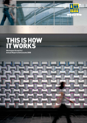 Workspace Group Plc annual report 2008