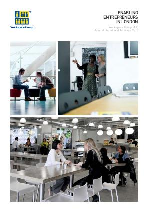 Workspace Group Plc annual report 2010