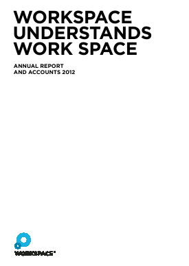 Workspace Group Plc annual report 2012