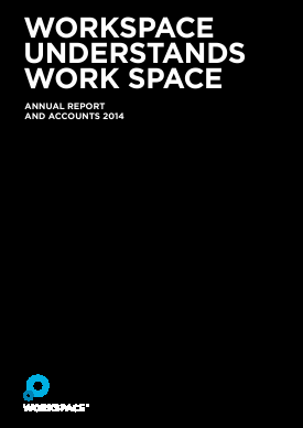 Workspace Group Plc annual report 2014