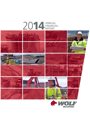 Wolf Minerals annual report 2014