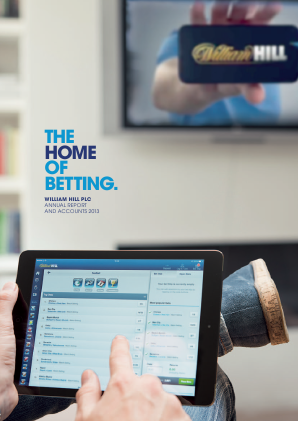 William Hill Plc annual report 2013