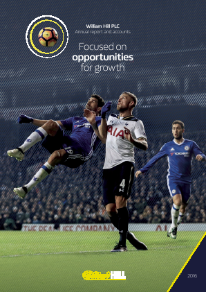 William Hill Plc annual report 2016